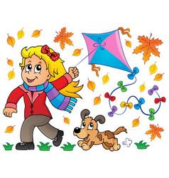 Kites theme image 7 vector