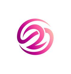 Letter s r logo vector