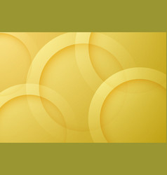 Modern gold backgrounds abstract 3d circle vector