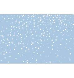 Snow horizontal vector