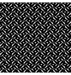 black pattern on white background vector image vector image