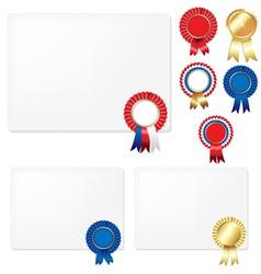 Rosette certificate vector