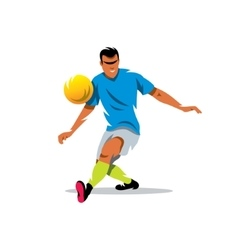 Soccer player Cartoon vector image vector image