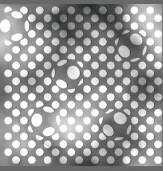 Abstract balls background vector