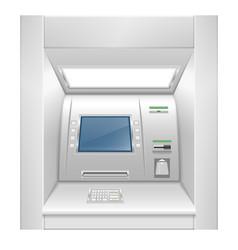 atm cash dispenser stock vector image