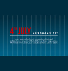 background independence day vector image