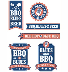 Barbecue and Blues vector