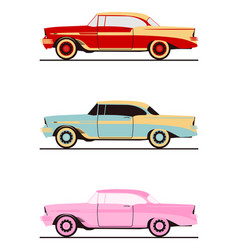 classic american coupe vector image