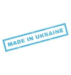 Made in ukraine rubber stamp vector