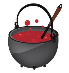 magic kettle vector image