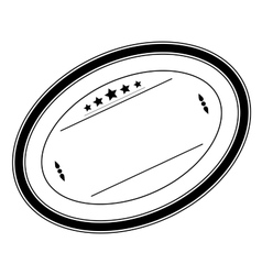 Oval Stamp vector