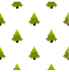 Spruce pattern flat vector