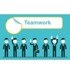 Team work design eps10 vector