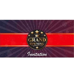 1160Grand Opening banners invitation vector image vector image