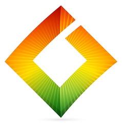 G square letter logo vector image
