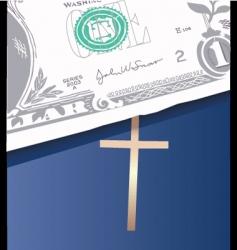 money bible vector image vector image