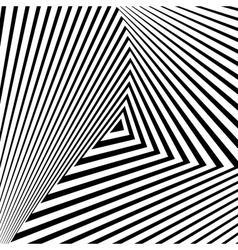 Design monochrome triangle movement background vector