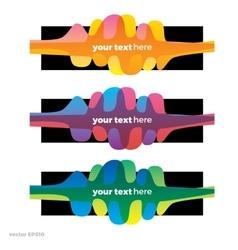 Sound wave symbol logo Colorful gradient vector image
