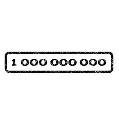 1 000 000 000 watermark stamp vector