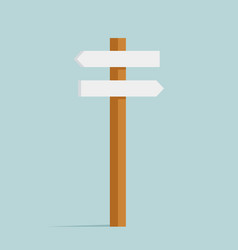 backward and forward different directions sign vector image