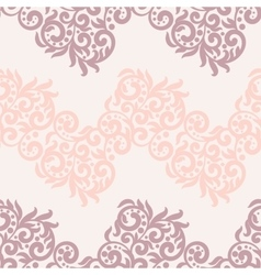 Filigree lace tracery in pastel colors For vector