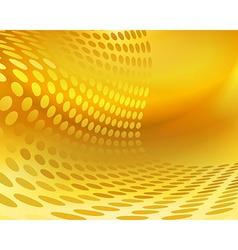 Gold ornate background Design Templates vector image