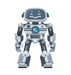 Mighty android robot electronic artificial vector