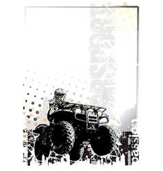 motorsport background vector image