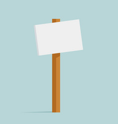 promotion sign street decoration object isolated vector image