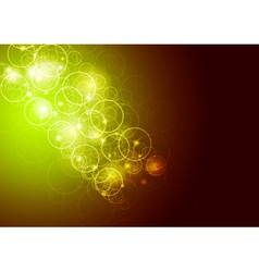 sparkling template vector image