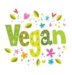 Vegan vector