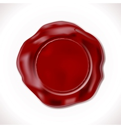 Wax Seal Isolated vector image