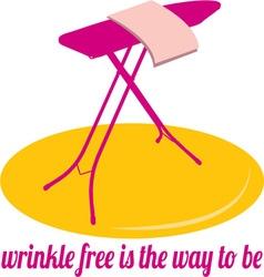Wrinkle Free vector