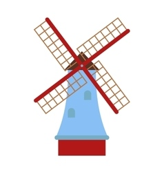 mill vector image vector image
