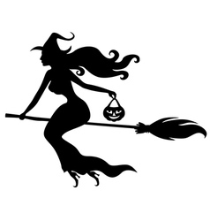 Witch beauty vector