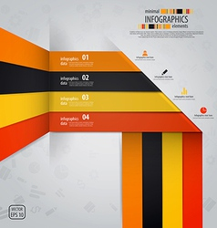 line infographics vector image