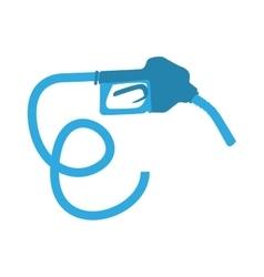 nozzle gasoline pump vector image
