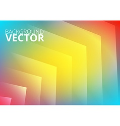 Abstract colored arrows background vector image