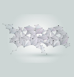 Abstract network background digital technology vector