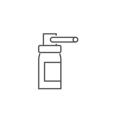 bottle spray icon vector image