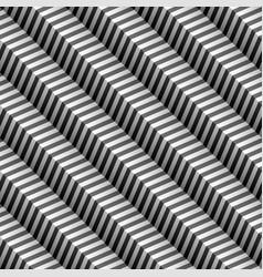 diagonal chevron seamless pattern vector image