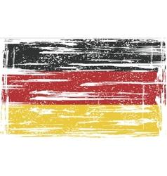 Germany grunge flag vector