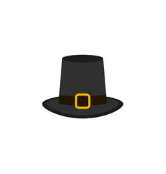 Hat icon of color thanksgiving of the day vector