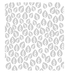 Leaves decorative background vector