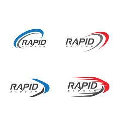 rapid design vector image