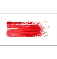 Red brush strokes - backdrop for your text vector