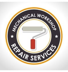 repair services design vector image