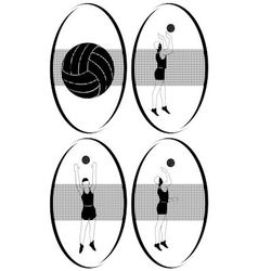 Volleyball 2 vector