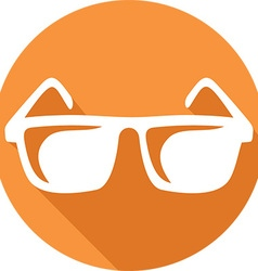 Glasses Icon vector image vector image