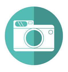 Photo camera picture travel shadow vector